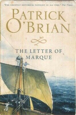 The Letter of Marque by Obrian, Patrick Paperback Book The Cheap Fast Free Post