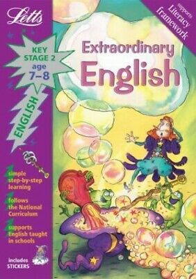 Extraordinary English Age 7-8 (Letts Magical Topic... by Barbara Ruben Paperback
