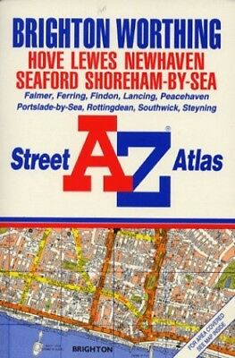 A. to Z. Street Atlas of Brighton/Worthing ... by Geographers' A-Z Map Paperback