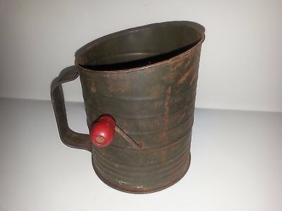 Vintage Bromwell's Measuring Flour Sifter