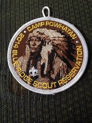 Mint 2014 Blue Ridge Scout Reservation Camp Powhatan Patch With Loop