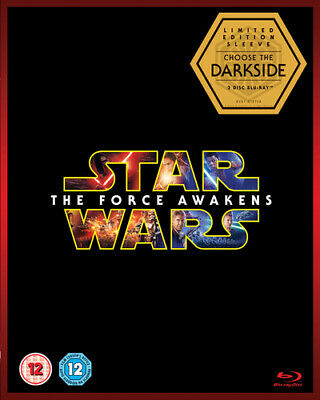 Star Wars: The Force Awakens Blu-Ray (2016) Harrison Ford