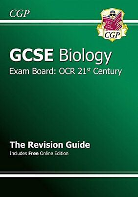 GCSE Biology OCR 21st Century Revision Guide (with onl... by CGP Books Paperback