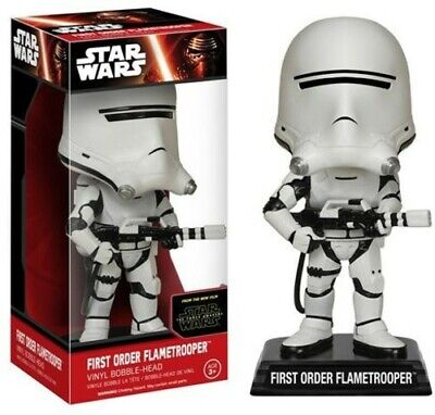 FUNKO WOBBLER: Star Wars - First Order Flametrooper [New Toys] Bobble Head
