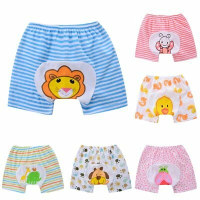 Cute Infant Toddler Baby Cloth Diaper Cover Toilet Training Pants Nappy Shorts