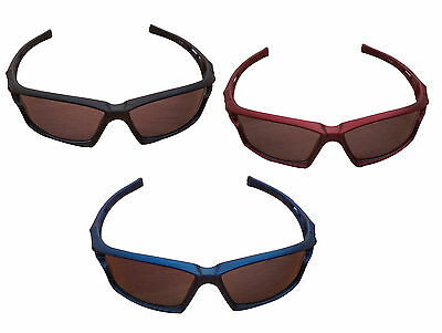 ACCLAIM A1 Cricket Sports Sunglasses Plastic Frame Vented Plastic Tinted Lens
