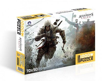 Assassin's Creed III Connor Kenway 2 Puzzle 1000 Pezzi (50 x 70 cm.) MULTIPLAYER