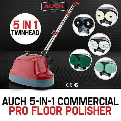 Commercial Home Tiled Hardwood Marbled Dual Floor Cleaning Shine Polisher 5-in-1