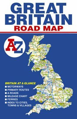 Great Britain Road Map (A-Z Road Ma... by Geographers' A-Z Map Sheet map, folded