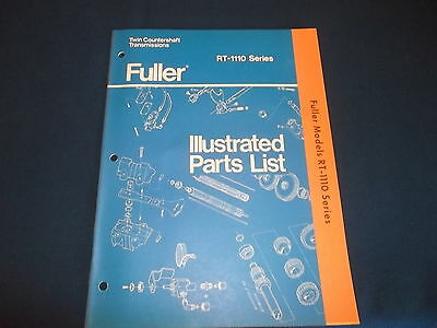 Eaton fuller transmission rt 1110 series parts list book 900 eaton fuller rt 1110 series twin countershaft transmission parts manual book ccuart Choice Image