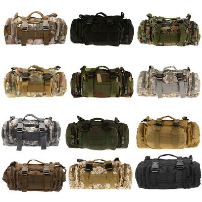 Outdoor Unisex Waist Bag Tactical Military Pack Fishing Bicycle Chest Bag Pouch
