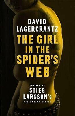 The Girl in the Spider's Web  (Millennium Series) by Lagercrantz, David Book The