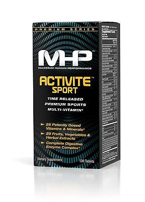 MHP Activite Sport Enzyme Activated Multi-Vitamin, 120 or 240 Tablets - NEW