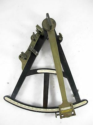 Antique Quadrant By Dudley Adams, Ebony With Inlay, C1810, Octant, Sextant.