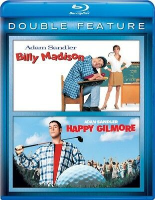 Billy Madison / Happy Gilmore [New Blu-ray] 2 Pack, Snap Case