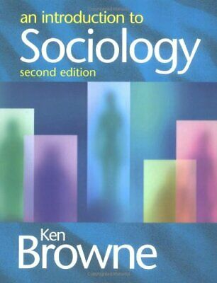 An Introduction to Sociology by Ken Browne Paperback Book The Cheap Fast Free