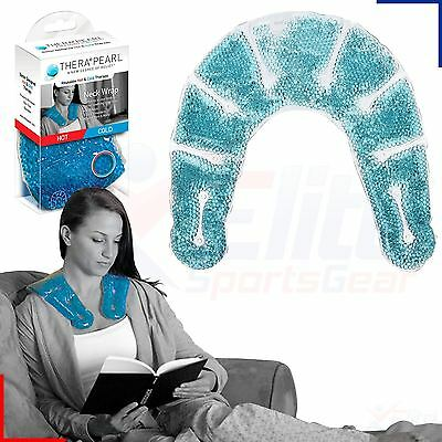 Therapearl Hot Cold Ice Neck Shoulder Pack Wrap Reusable Injury Relief