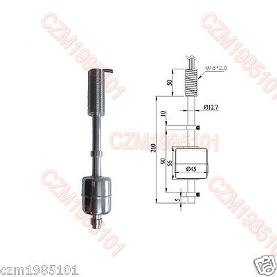 High Temperature Resistance Float Switch Anti-corrosion Liquid Level Switch