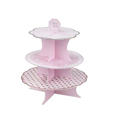 CAKE STAND Talking Tables 3-Tier Wedding Cupcakes Cake PICK N MIX - New