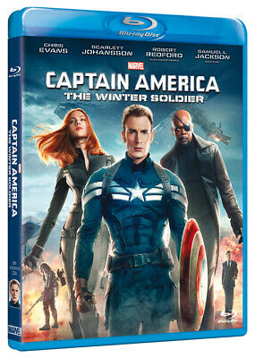 Captain America - The Winter Soldier (Blu-Ray) MARVEL