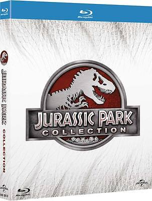 Jurassic Park Collection (4 Blu-Ray) UNIVERSAL PICTURES