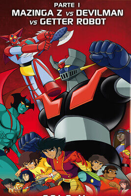 Super Robot GO NAGAI Vol. 1 (Blu-Ray) Mazinga, Goldrake, Getter Robot KOCH MEDIA