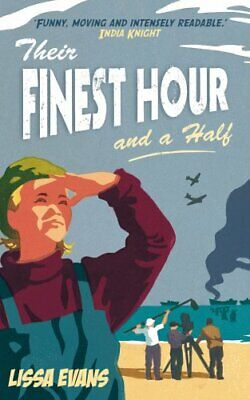 Their Finest Hour And A Half by Evans, Lissa Hardback Book The Cheap Fast Free