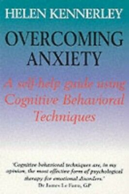 Overcoming Anxiety by Kennerley, Helen Paperback Book The Cheap Fast Free Post