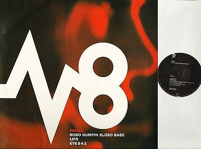 """WHALE hobo humpin slobo babe YZ 798T trip hop east west 1993 12"""" PS EX/VG+"""