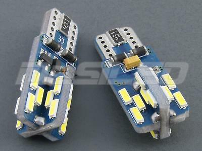 2 Bombillas led coche moto Canbus T10 W5W 24 smd 4014 chip Phllips 5000K