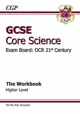 GCSE Core Science OCR 21st Century Workbook - Higher (... by CGP Books Paperback