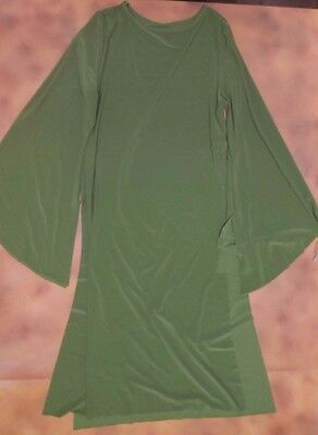 Praisewear Spandex Overdress  Liturgical Church Dance Olive Green Ladies Small