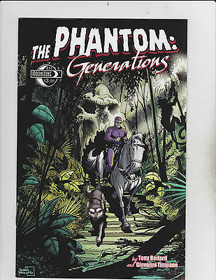 Moonstone Entertainment! The Phantom: Generations! Issue 11!