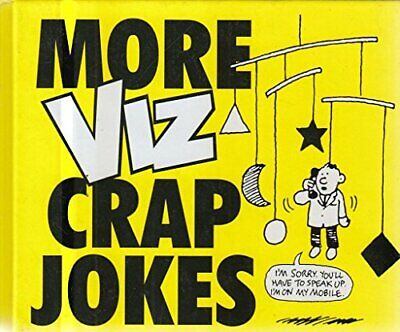 More Crap Jokes by Viz Hardback Book The Cheap Fast Free Post