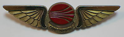 Continental Wings Plastic Hat Lapel Pin Brooch