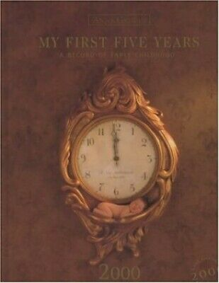 My First Five Years by Geddes, Anne Record book Book The Cheap Fast Free Post