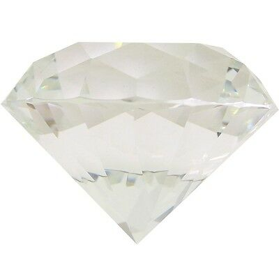 $50 Diamond Supply Co Diamond Paperweight (clear) ONE SIZE