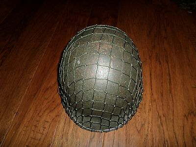 dccf7698bdb U.s Military Wwii Style Repro M1 Helmet Net With Draw String - Helmet Not  Includ