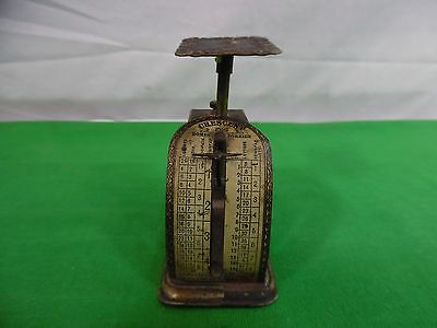 Antique Crescent Postage Scale Pelouze Mfg Co 1903 Works
