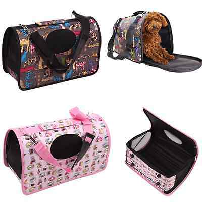 Travel Tote Shoulder Pet Puppy Dog Cat Crate Carrier House Kennel Cage HandBag