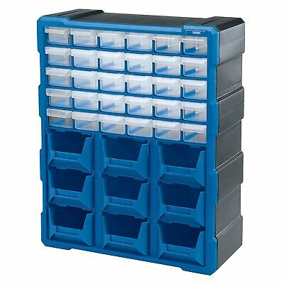 Draper 30 Drawer 9 Bin Nuts/Bolts/Tool Storage/Storing Organiser Cabinet - 31232