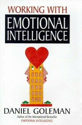 Working with Emotional Intelligence by Goleman, Daniel Hardback Book The Cheap