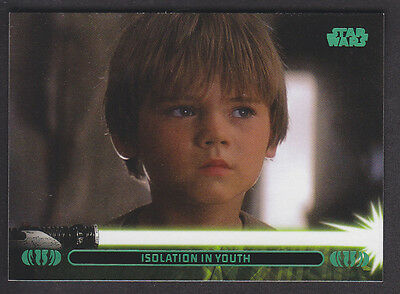 Topps Star Wars - Jedi Legacy - Green Parallel Card # 4A