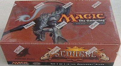 Magic the Gathering (MTG) Scourge Factory Sealed 36 Pack Booster Box (English)