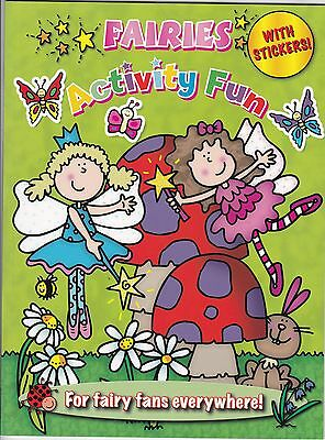 Fairies Activity Book with Stickers - NEW