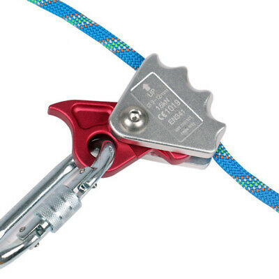 15KN Safety Rock Climbing Abseil Rope Grab Rappel Protector Fall Protection