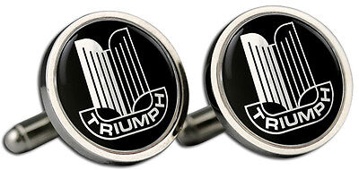Triumph TR6 Grille Logo Cufflinks and Gift Box