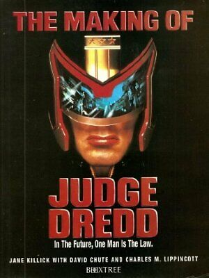 "The Making of ""Judge Dredd"" by Lippincott, Charles Paperback Book The Cheap Fast"