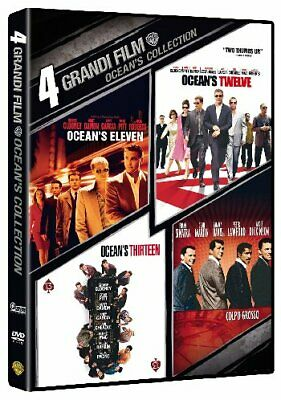 Ocean's - 4 Grandi Film Collection (4 Dvd) WARNER HOME VIDEO