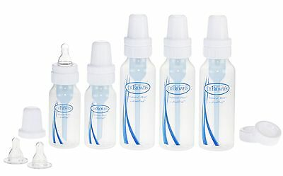 Dr. Brown's BPA Free Natural Flow Baby Bottle Feeding Set (Packaging may ... New